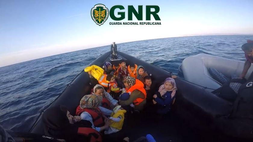 GNR resgatou mais de 760 migrantes das águas do Mediterrâneo