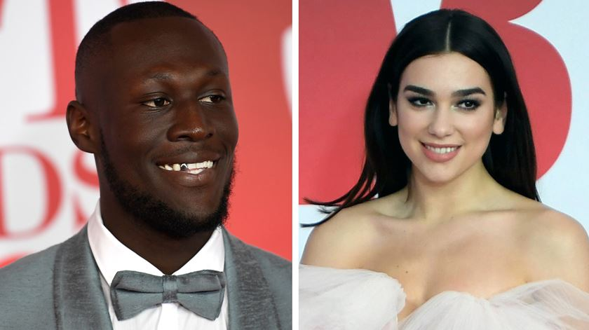 Stormzy e Dua Lipa dominam Brit Awards
