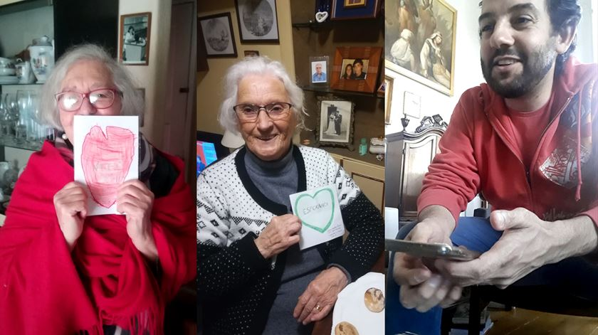 Coronavírus. Voluntários combatem solidão dos idosos ao telefone