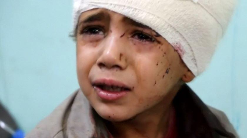 Ataque contra autocarro mata crianças no Iémen