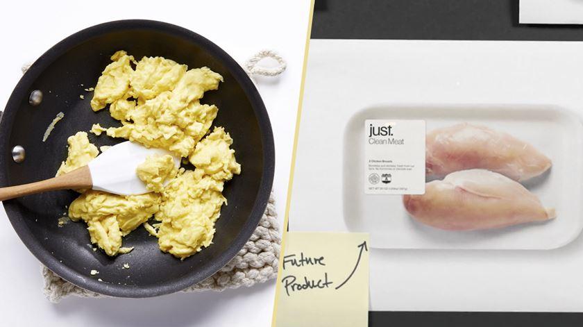 Fazer omeletes sem ovos e carne sem matar animais? Já é possível
