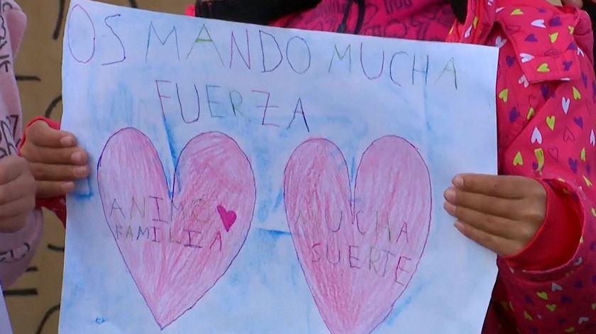 """Apoio a Julen. A marcha de """"um povo que está a viver um pesadelo"""""""