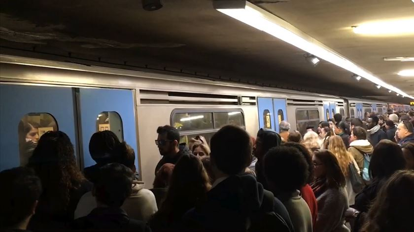 Metro de Lisboa sem grandes constrangimentos em dia de Web Summit