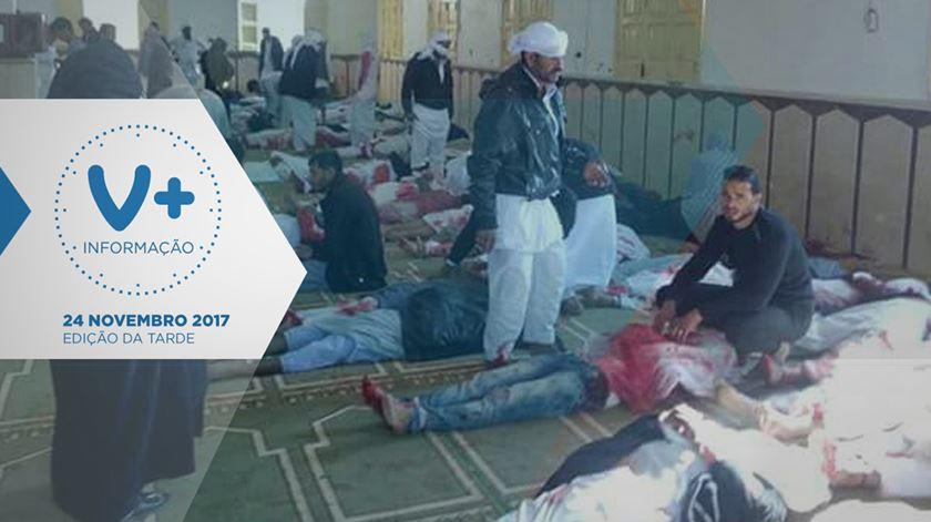 Terrorismo no Egipto. Mais de 230 mortos em ataque a mesquita