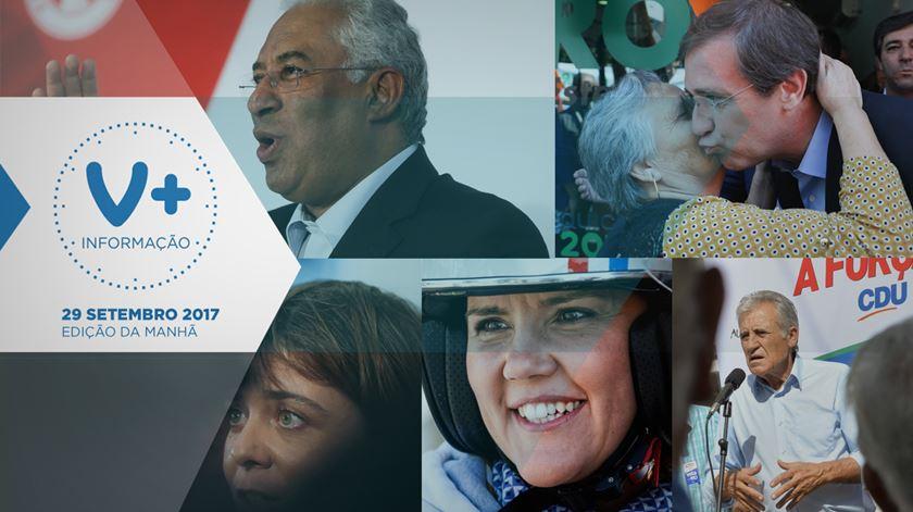 Partidos gastam últimos cartuchos da campanha no Porto, Lisboa e Loures