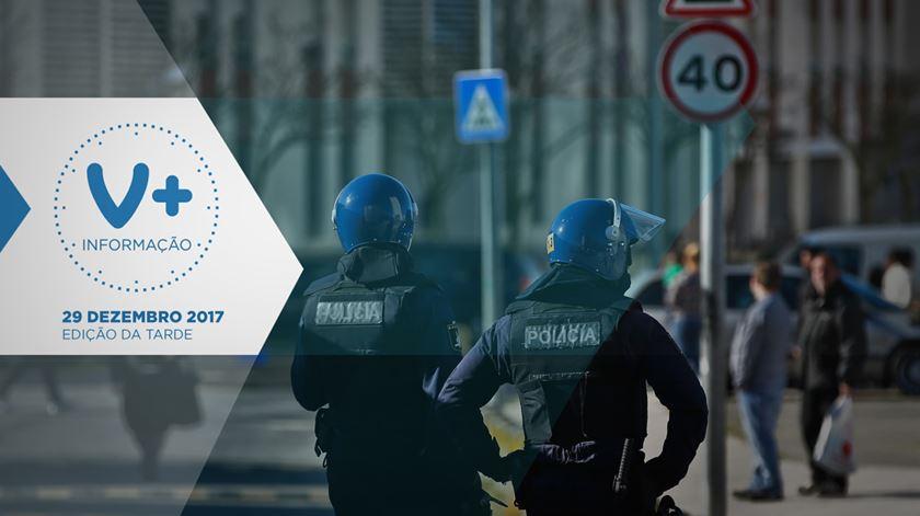 Seis feridos e três detidos após perseguição policial em Lisboa