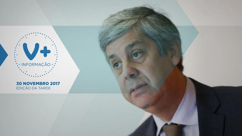 Centeno quer consensos no Eurogrupo para dar vias alternativas à Europa