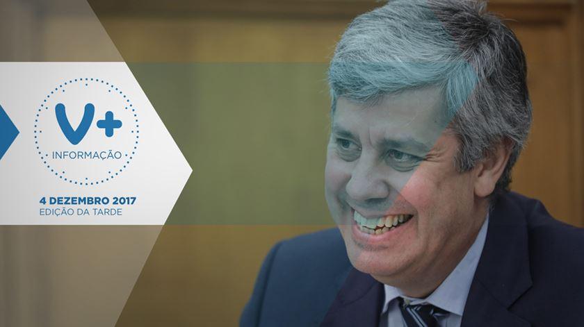Previsões confirmadas: Centeno é presidente do Eurogrupo