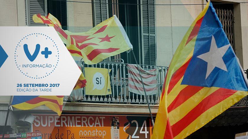 """Barcelona pede a Bruxelas que """"proteja direitos dos catalães"""""""