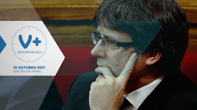 """Catalunha """"suspende"""" independência para dialogar com Madrid"""
