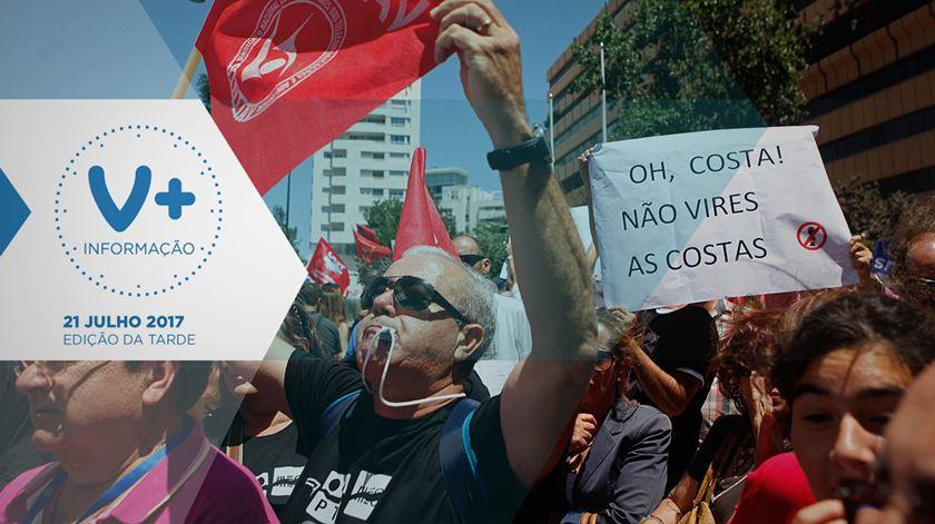 """""""Ó Costa! Não vires as costas"""", o apelo dos trabalhadores da PT"""