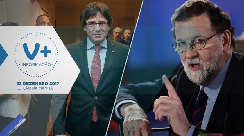 Rajoy e Puigdemont vão mesmo reunir-se?