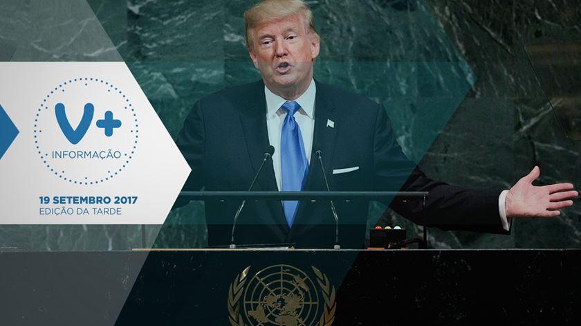 Trump ameaça destruir Coreia do Norte