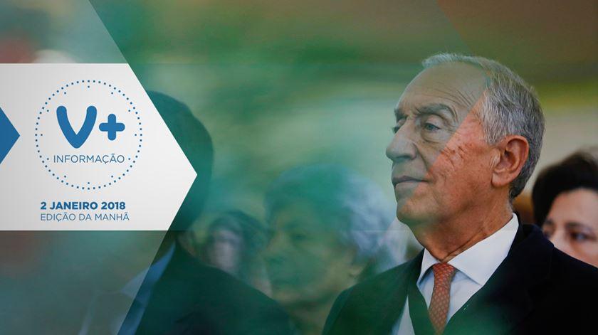 """Marcelo: em 2018, é preciso """"reinventar o futuro"""""""