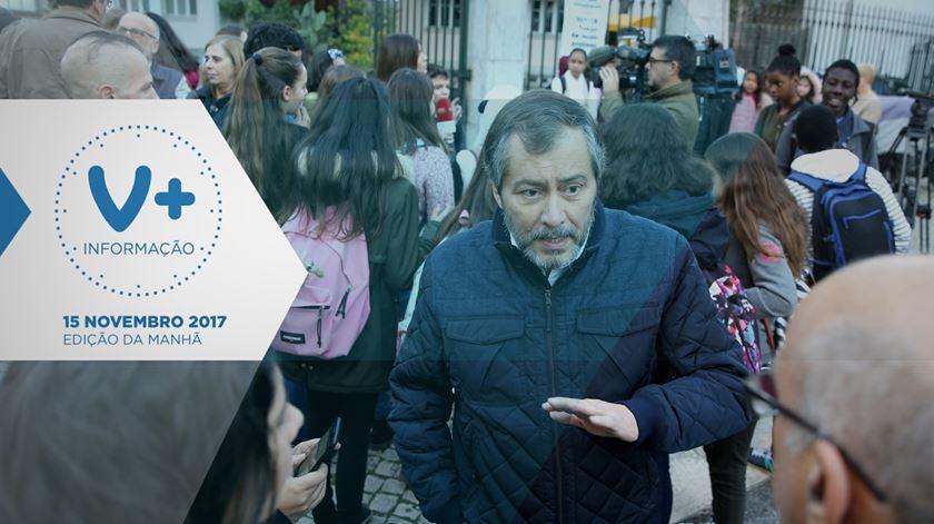 Professores (e alunos) na rua