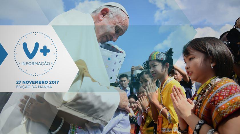 Papa chegou ao Myanmar com drama dos rohingya em pano de fundo