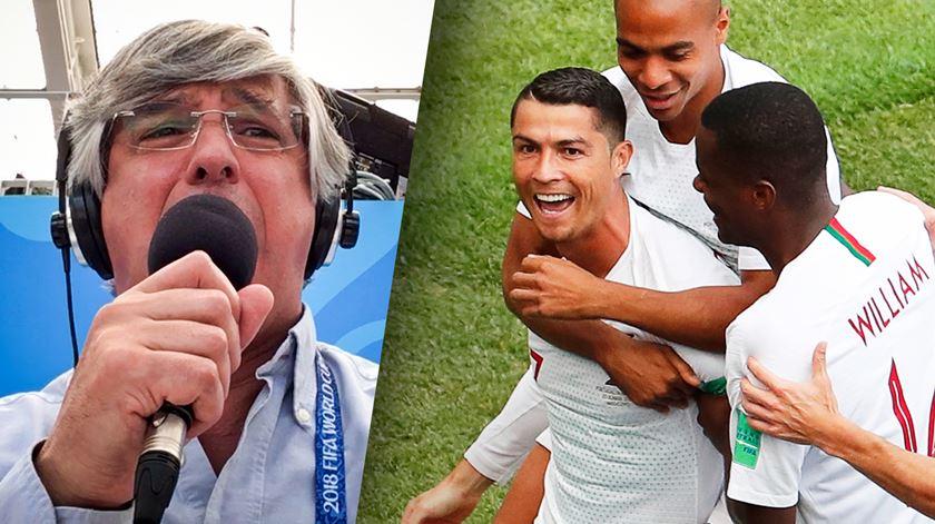 """O golo de Ronaldo por Pedro Azevedo: """"Ele está em ponto de rebuçado"""""""