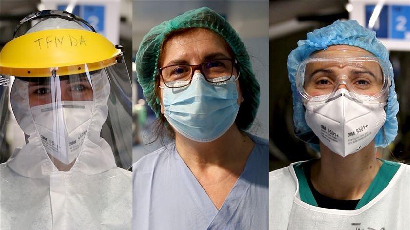 Combater uma pandemia num hospital em obras. Como o hospital de Gaia está a lidar com a Covid-19