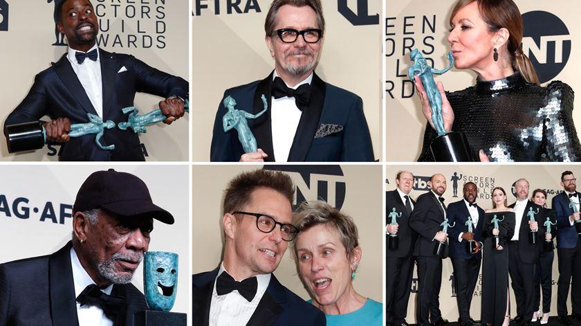 Barómetro dos Óscares. Conheça os principais vencedores dos prémios SAG