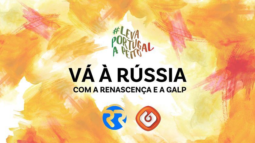 Vá à Rússia com a Renascença e a Galp