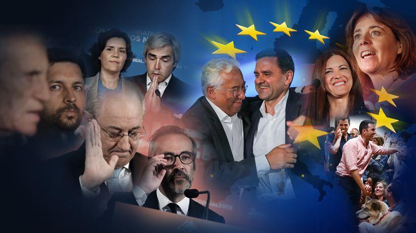 Os vencedores e vencidos das Europeias 2019. Resumo da noite eleitoral