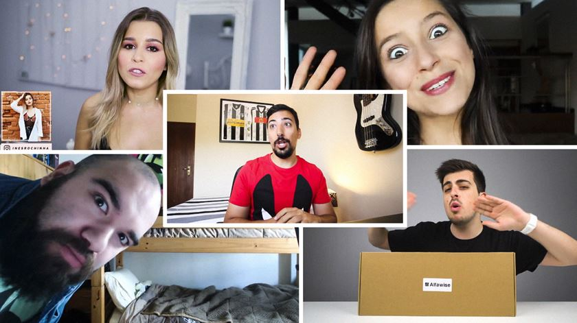 """O YouTube foi """"trampolim"""" para estes cinco jovens portugueses"""