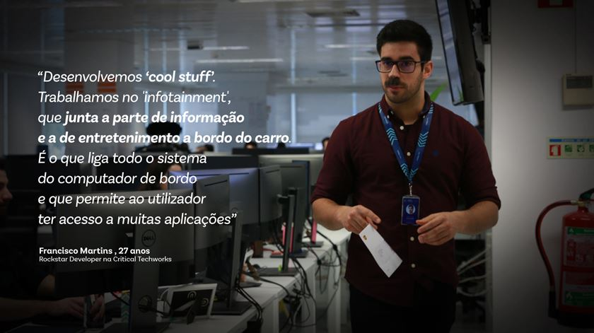 Francisco Martins, Rockstar Developer na Critical Techworks