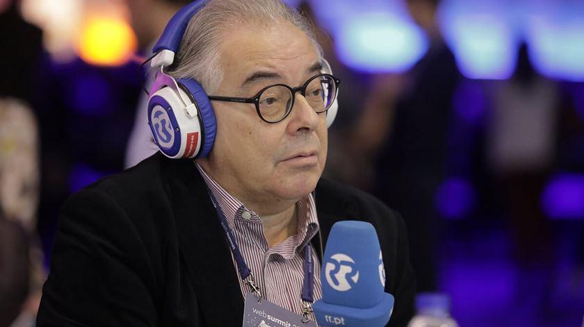 """Francisco Teixeira da Mota no programa """"Em Nome da Lei"""". Foto: Ricardo Fortunato/RR"""