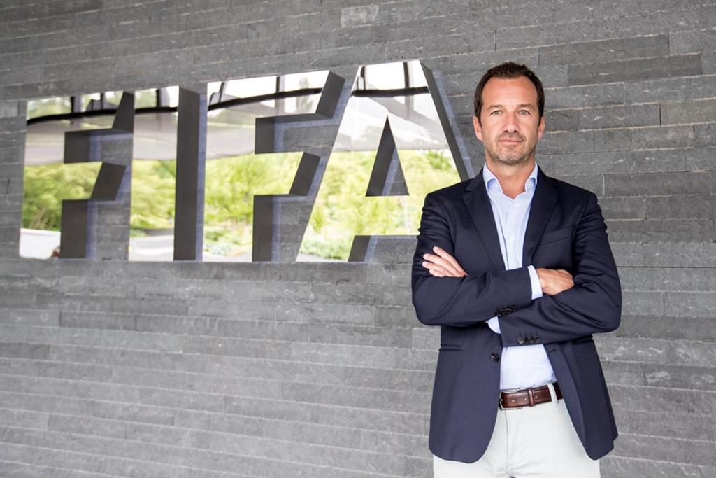 Frederico Varandas está ao lado da FIFA, da UEFA, da Federação e da Liga na oposição à Superliga Europeia Foto: Sporting CP