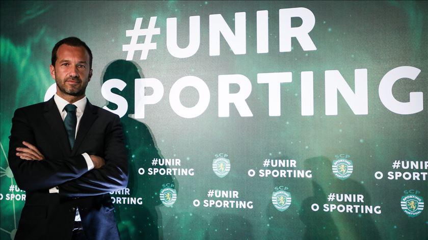 Frederico Varandas apresenta candidatura à presidência do Sporting. Foto: Nuno Fox/Lusa