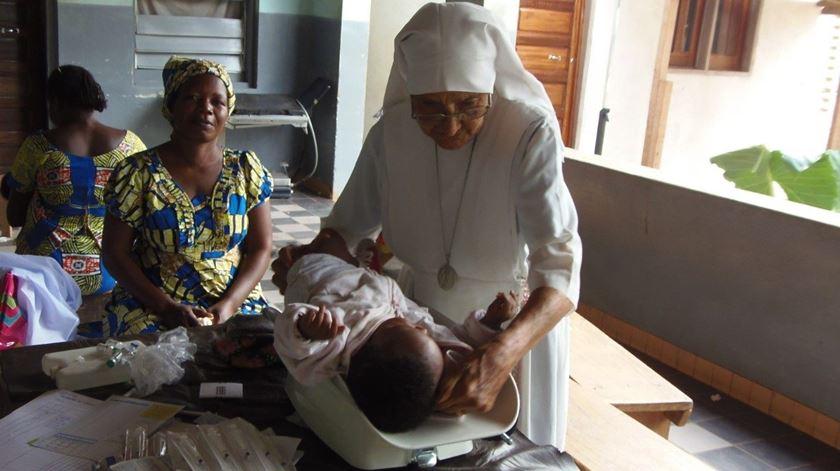 Maria Concetta Seu em África. Foto: Ecclesia