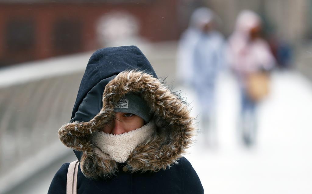 As temperaturas máximas no continente vão ser muito baixas. Foto: EPA