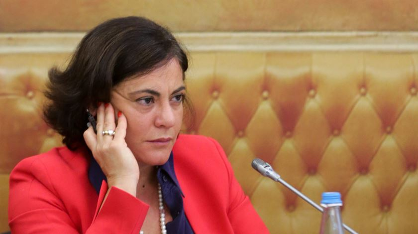 Gabriela Dias, presidente CMVM. Foto: Tiago Petinga/Lusa
