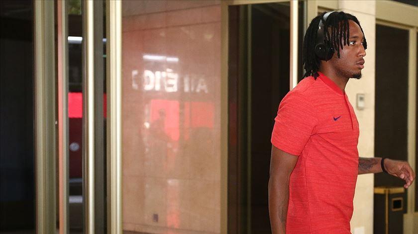 Gelson já está em Itália com o resto do plantel. Foto: Atlético de Madrid