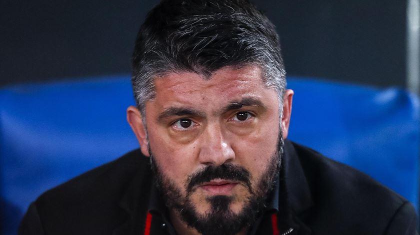 Gattuso é o sucessor de Ancelotti no Nápoles