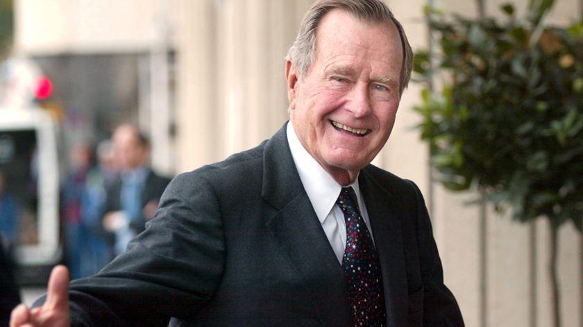 George Bush morreu no dia 30 de novembro. Foto: Kimmo Mantyla/EPA