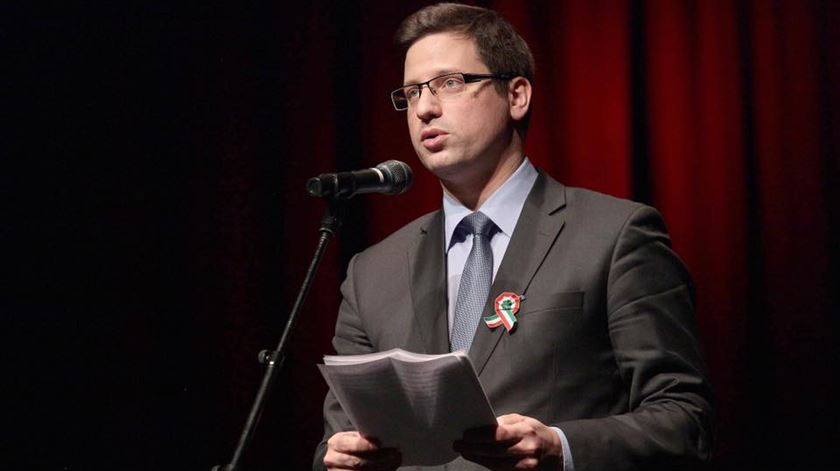 Gergely Guryás, presidente da bancada parlamentar do Fidesz, na Hungria. Foto: Facebook