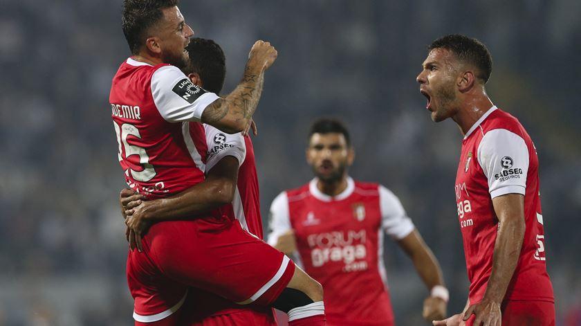 Braga sonha com título de campeão. Foto: José Coelho/Lusa.