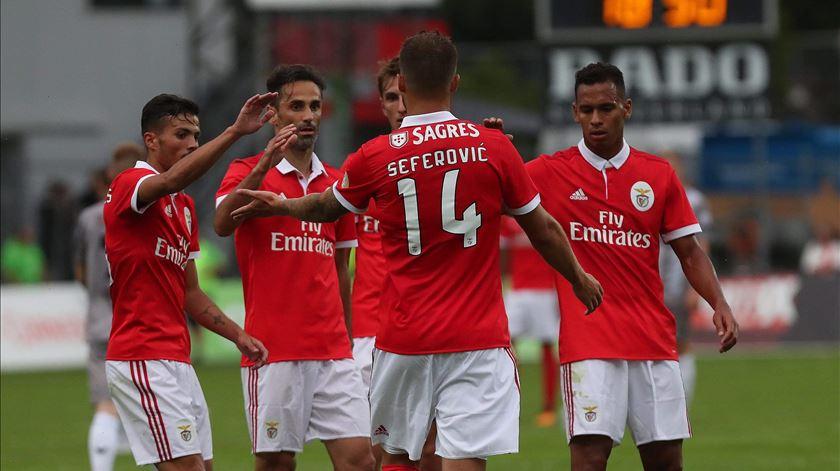 Benfica quer festejar uma vitória frente ao CSKA. Foto: slbenfica.