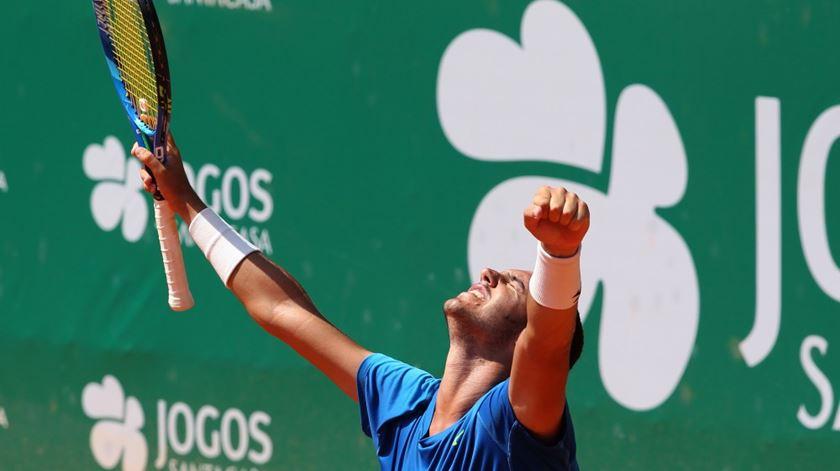 Gonçalo Oliveira segue em frente na Tunísia. Foto: Lisboa Belém Open 2017