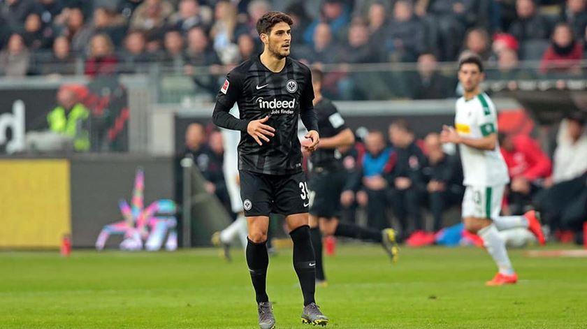 """Gonçalo Paciência """"feliz com a estreia Bundesliga"""""""