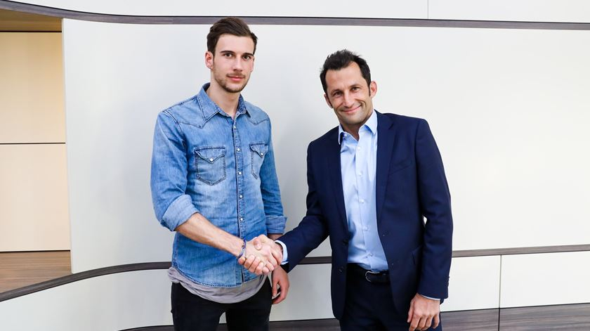 Goretzka no Bayern a custo zero