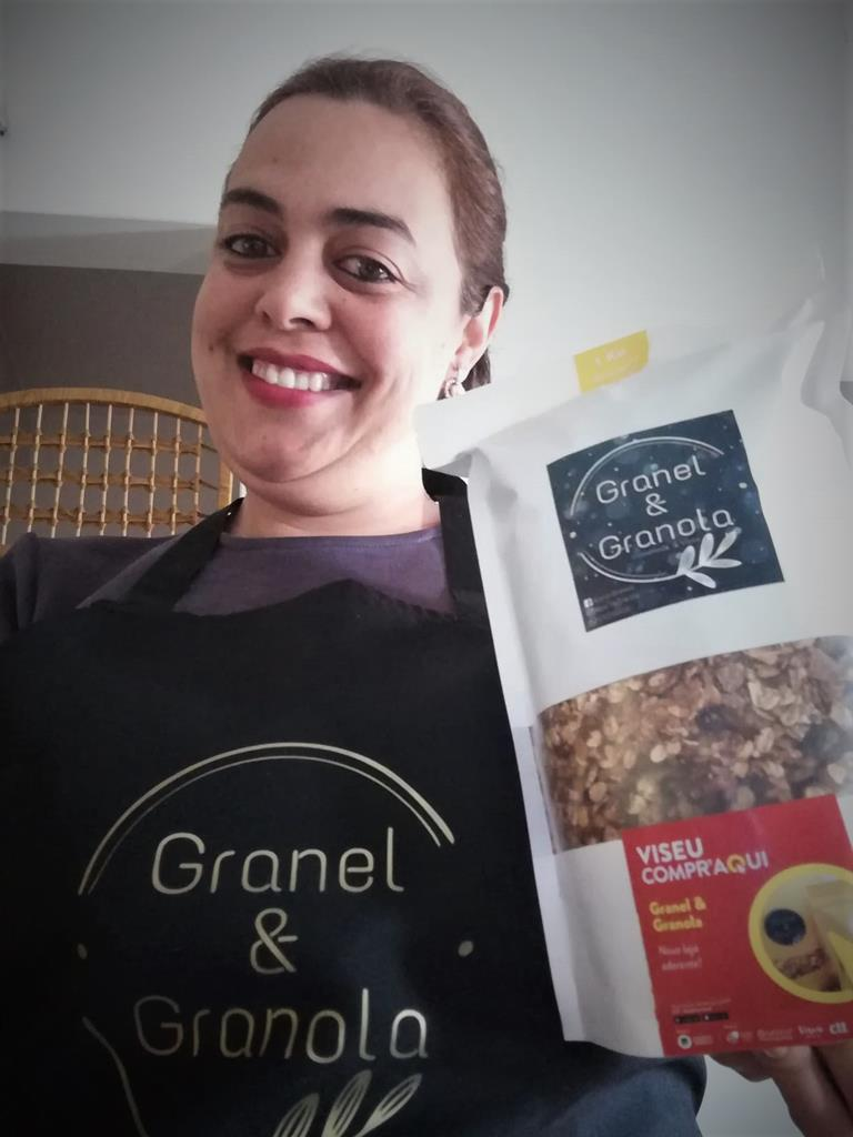 Nádia Gomez, a esteticista quer pôr os portugueses a comer granola. Foto: DR