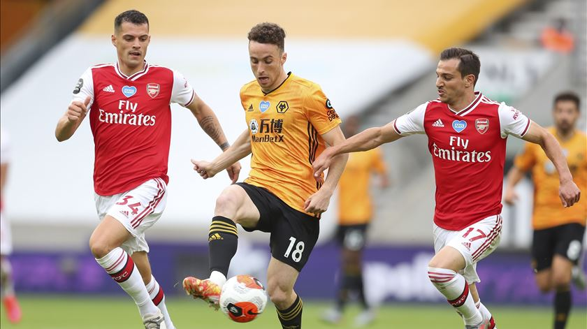 Wolverhampton perde com Arsenal e deixa Europa fugir