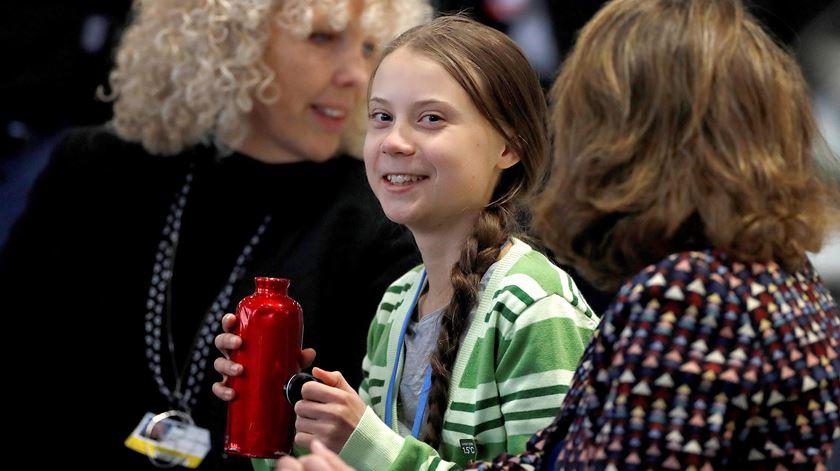 """Marcelo considera Greta Thunberg """"símbolo"""" do problema das alterações climáticas"""