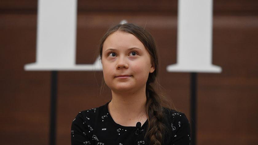 """Greta Thunberg diz que incêndios na Amazónia são """"desastrosos"""" e que Trump deve """"ouvir mais a ciência"""""""