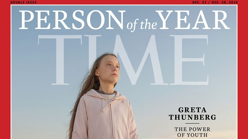 "Greta Thunberg eleita personalidade do ano para a revista ""Time"""