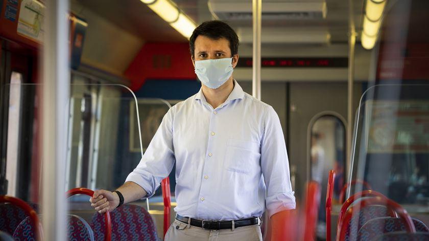 """""""Basta um transporte público cheio para levar a um aumento de infeções"""""""
