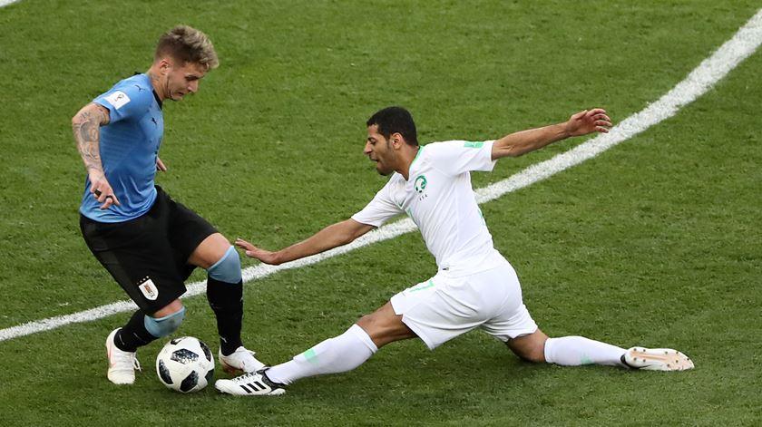 Lateral direito de 25 anos joga atualmente no Peñarol. Foto: Marcos Brindicci/Reuters