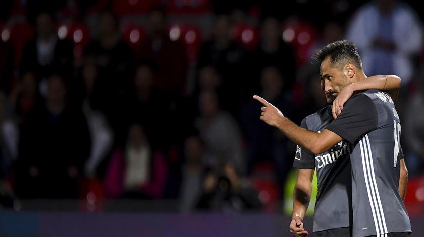 """Rui Vitória. """"Fico com a ideia que Nuno Almeida fez uma boa arbitragem"""""""